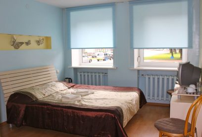 Double room (double bed with bathroom)